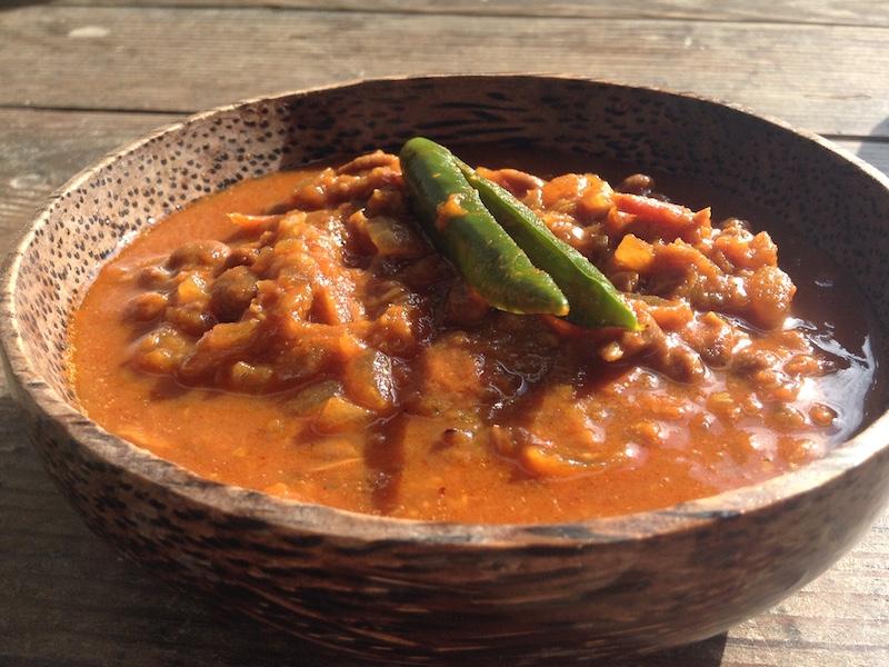 【ネパール料理】キネマ(納豆)カレーのレシピ