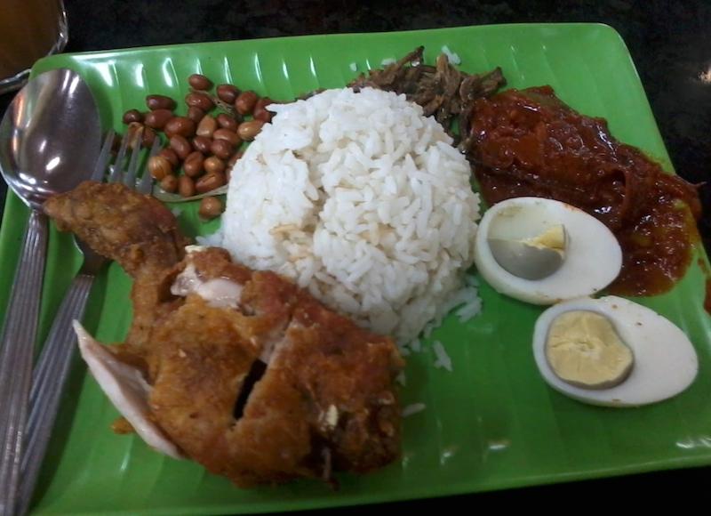 マレーシアで食べたナシレマ