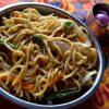 【ベジタリアンOK】インド流ベジチョウメン(焼きそば)のレシピ
