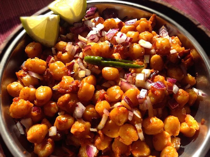 【ネパール料理】チャナマサラ(ひよこ豆のスパイス炒め)レシピ