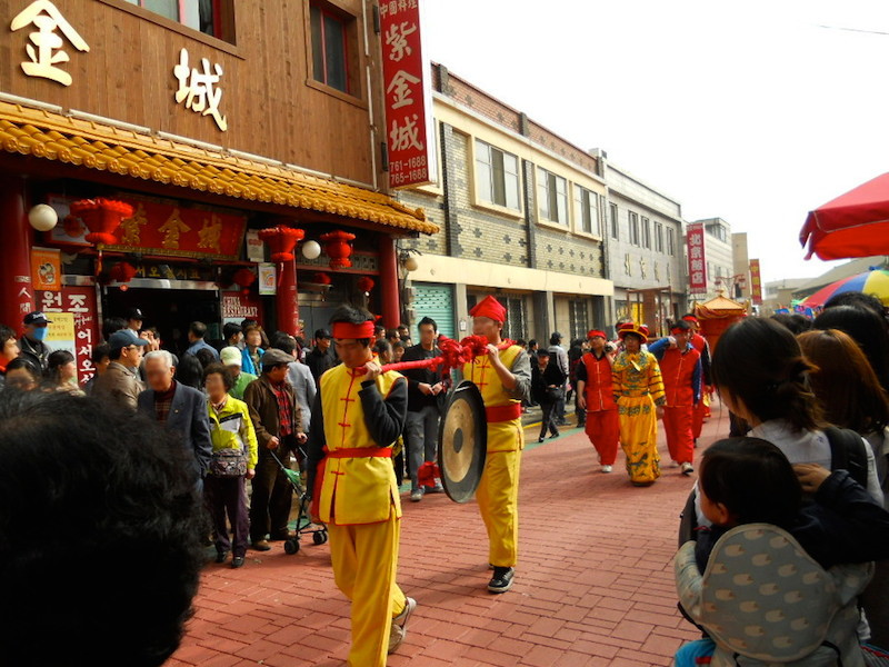 韓国の中華街