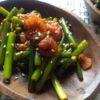 【韓国料理レシピ】ニンニクの芽の炒め物