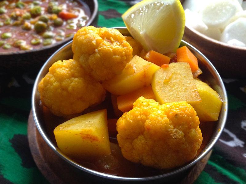 野菜のインドカレー