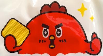 謎の鶏キャラクター