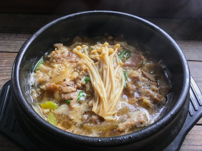 豚プルコギ鍋【テジプルコギチゲ】レシピ