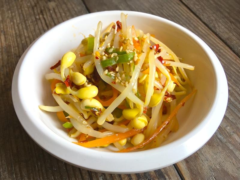 ピリ辛豆もやしナムルのレシピ