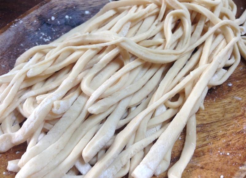 カルグクス麺の作り方
