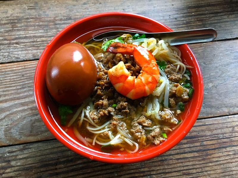 台南料理【タンツーメン】担仔麺