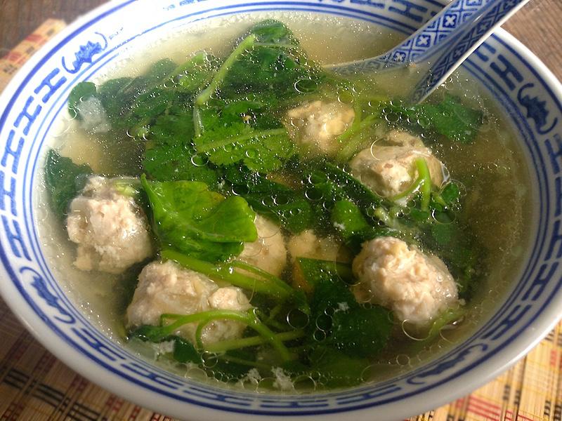 ベトナム風クレソンスープ