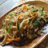 【韓国料理レシピ】豚肉チャプチェ