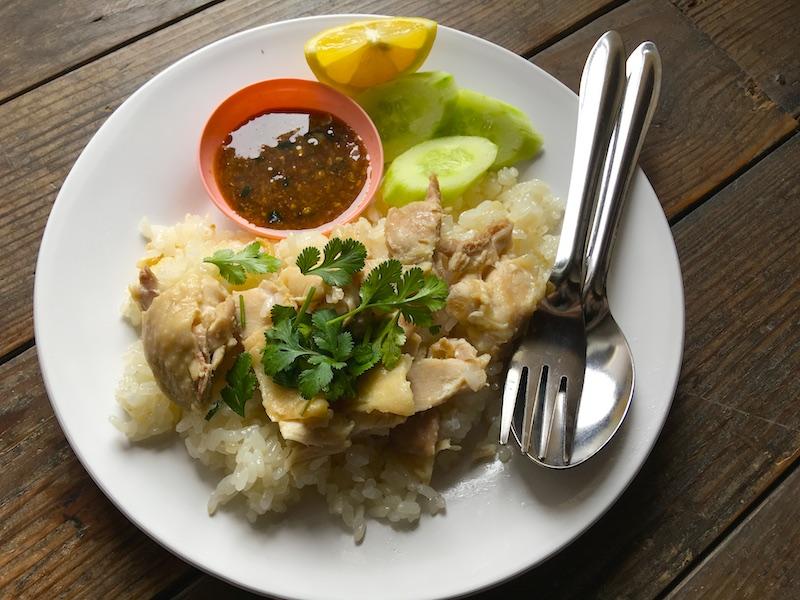 カオマンガイ(タイ風チキンライス)のレシピ
