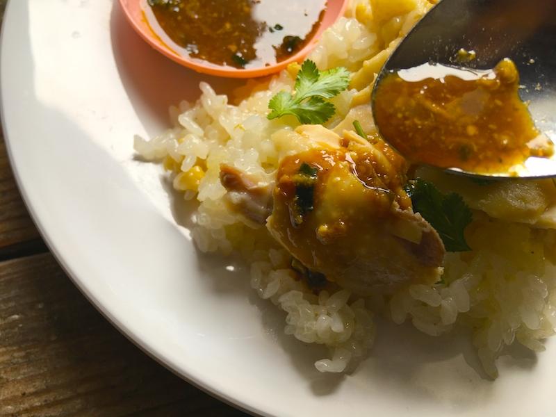カオマンガイのタレ