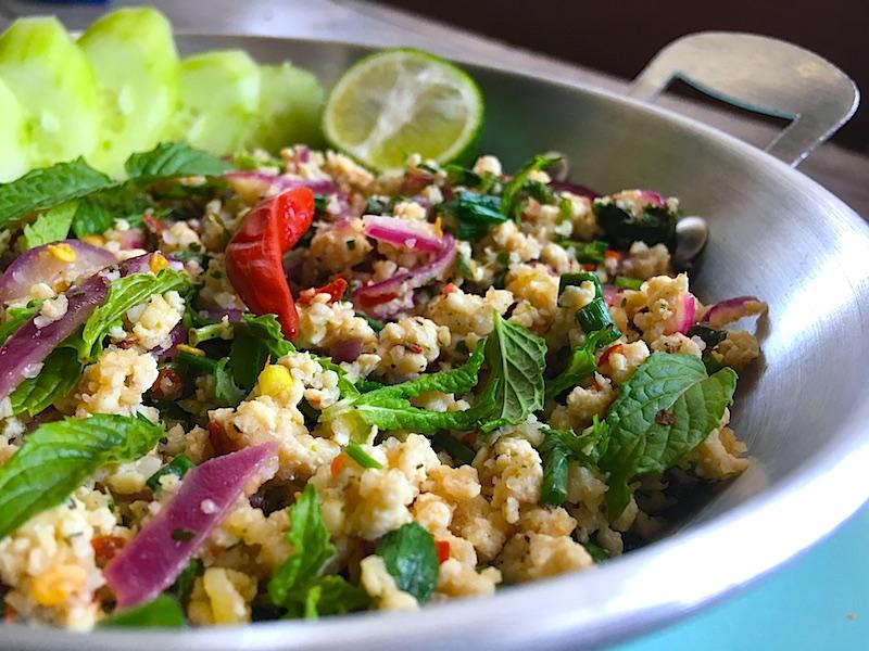 タイ風ひき肉サラダレシピ