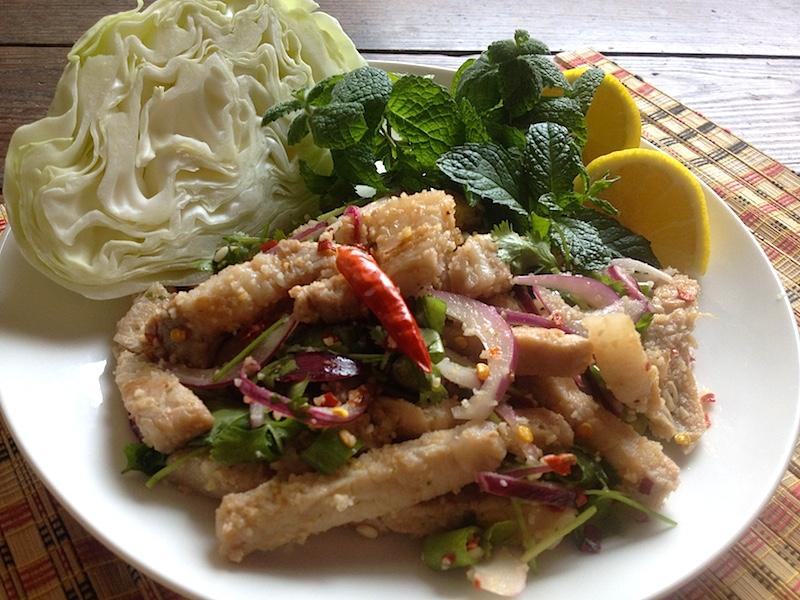 【タイ料理】ナムトックムー(豚肉)レシピ