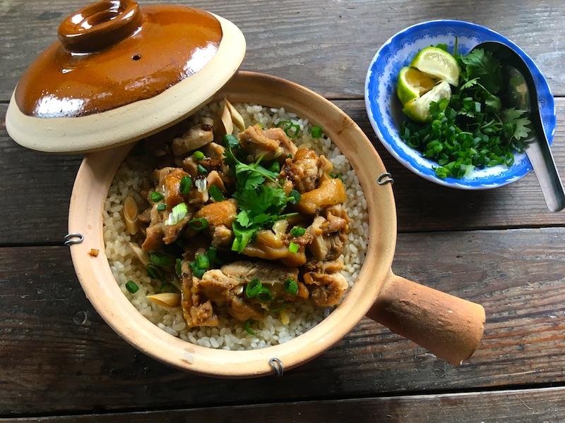 ベトナム風チキンライスのレシピ