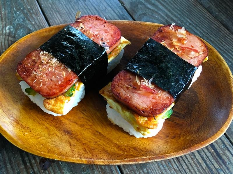 沖縄風スパムむすびレシピ