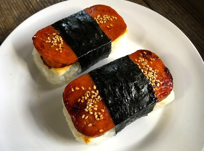 韓国風スパムむすびレシピ