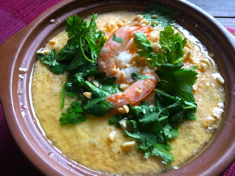 【タイ料理】カイトゥン(茶碗蒸し)レシピ