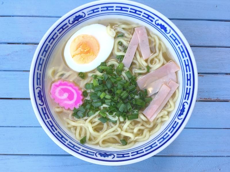 ハワイ風ラーメン【サイミン】レシピ