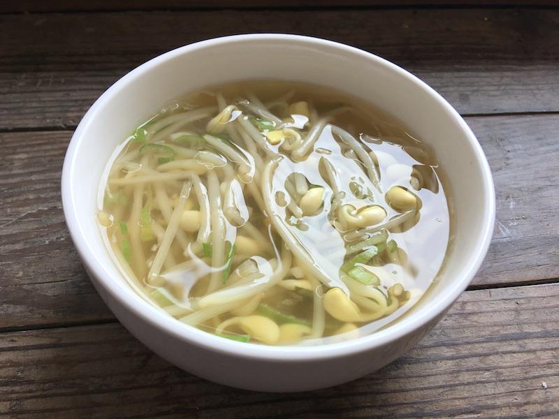 韓国風*豆もやしスープ【コンナムルクッ】レシピ