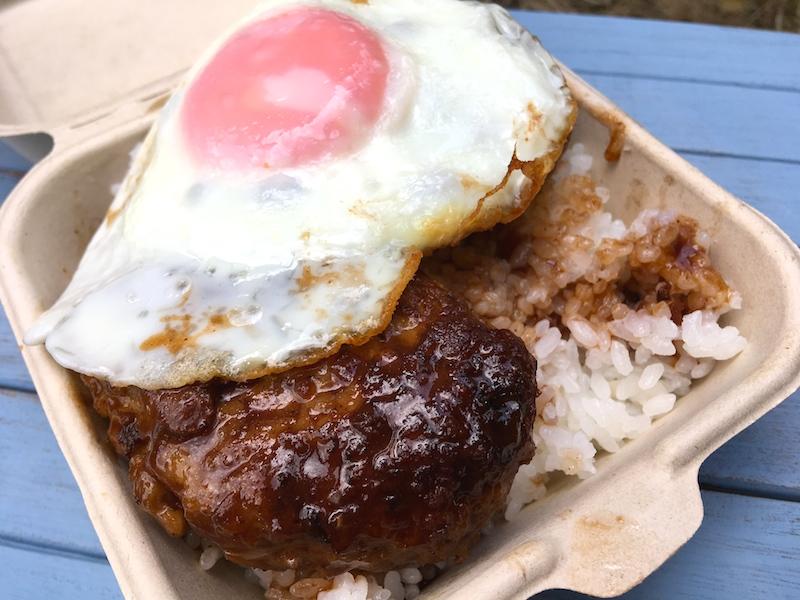 ハワイアン♪ロコモコのレシピ(豚肉100%ハンバーグ)