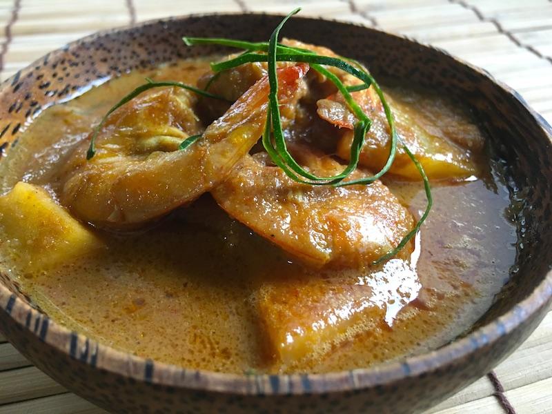 海老とパイナップルのカレーレシピ