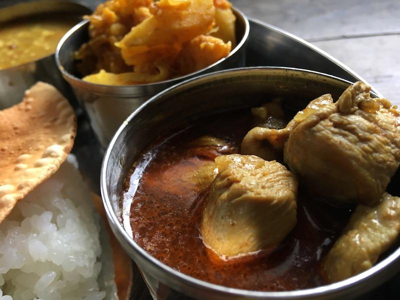 ネパール風チキンカレーのレシピ