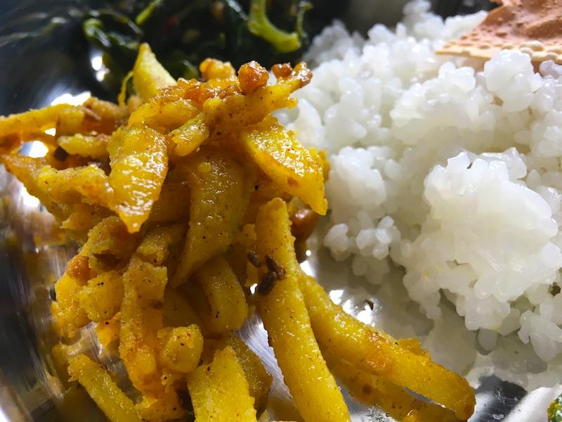 ネパール風アルーサブジ(じゃがいも炒め)レシピ