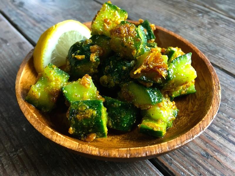 ネパール風きゅうりアチャールのレシピ