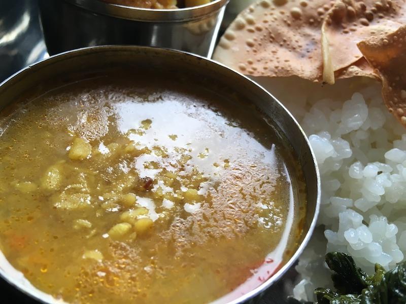 ネパール風レンズ豆ダルカレーのレシピ