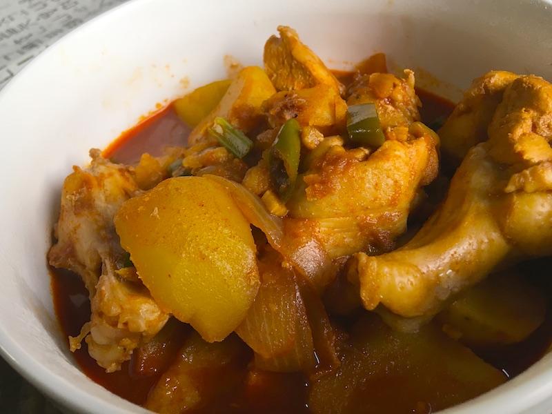 タットリタン【韓国風*鶏肉とじゃがいもの煮物】レシピ