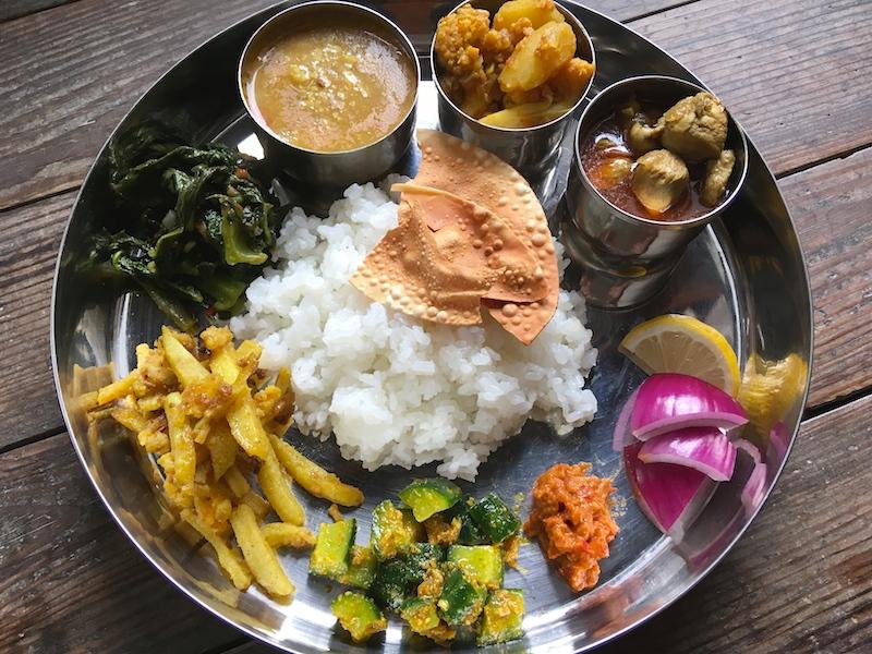 ネパール式カレー定食【ダルバート】のレシピ