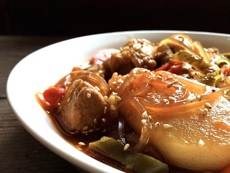 安東チムタクのレシピ(韓国東南部の郷土料理です)