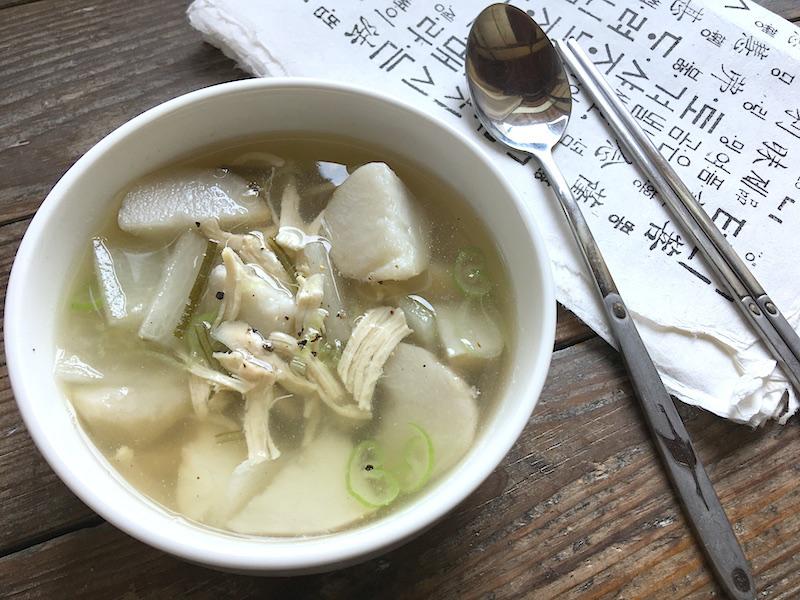 韓国風*里芋スープ【トランタン】レシピ