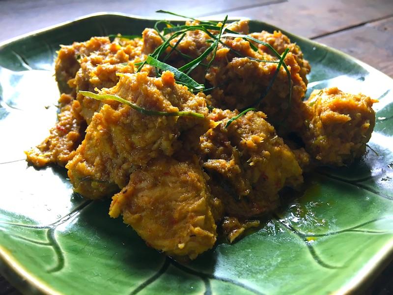 チキンルンダン(マレーシア風チキン煮込み)レシピ