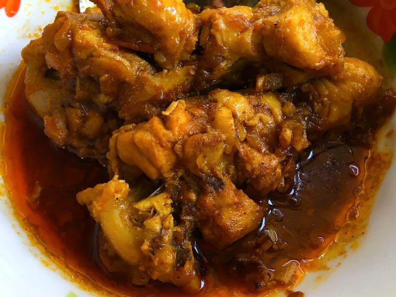 ミャンマー式チキンカレーレシピ