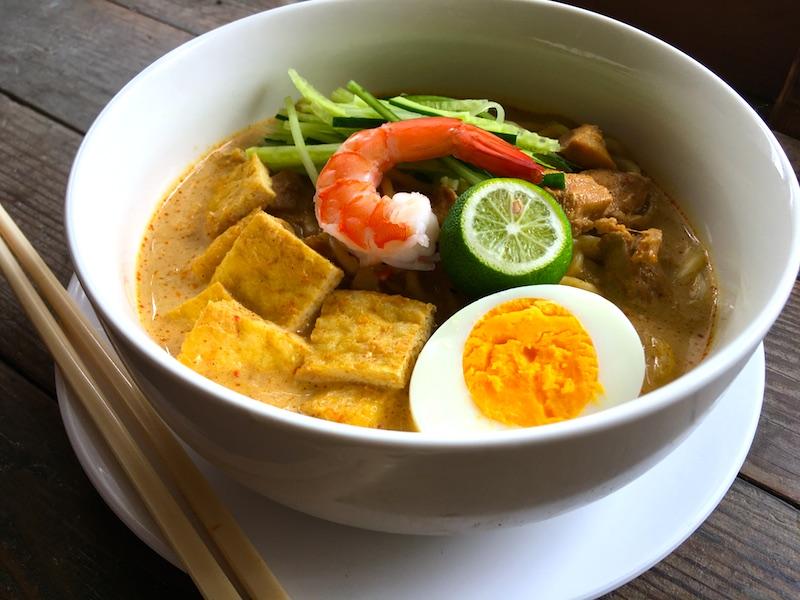 シンガポールラクサのレシピ
