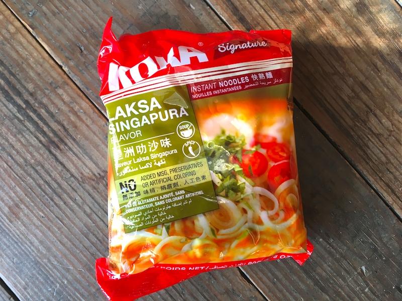 インスタントラクサ麺