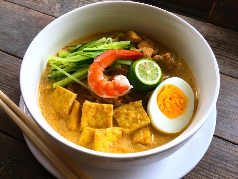 ニョニャラクサ(シンガポールラクサ)レシピ