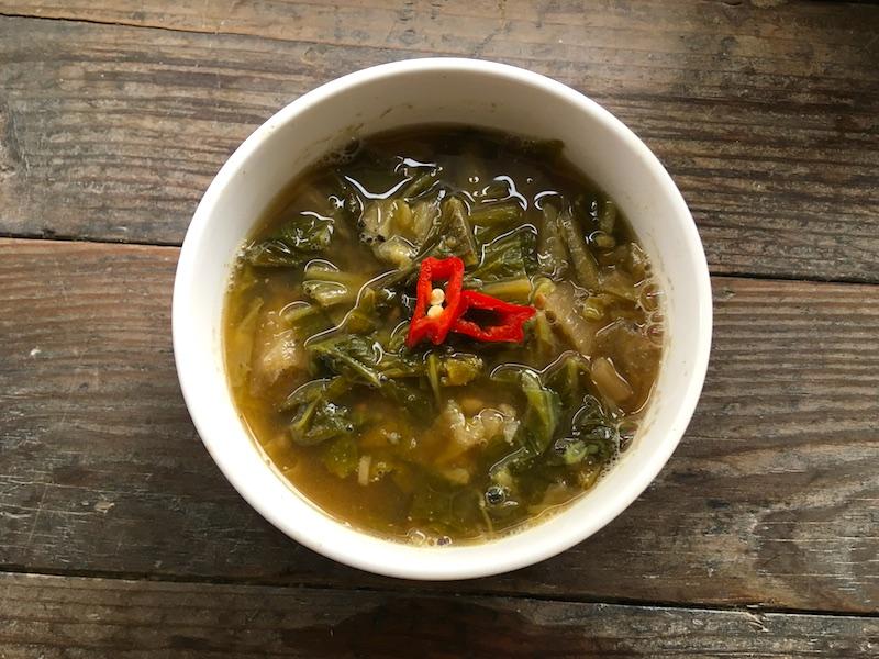 韓国の白菜スープ【ウゴジスープ】レシピ