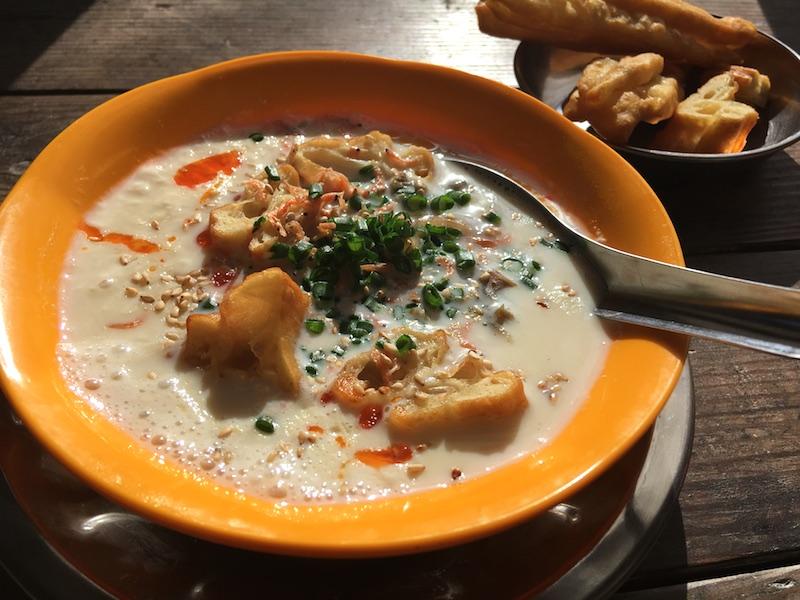 【台湾の朝食】鹹豆漿/シェントウジャン(豆乳スープ)レシピ