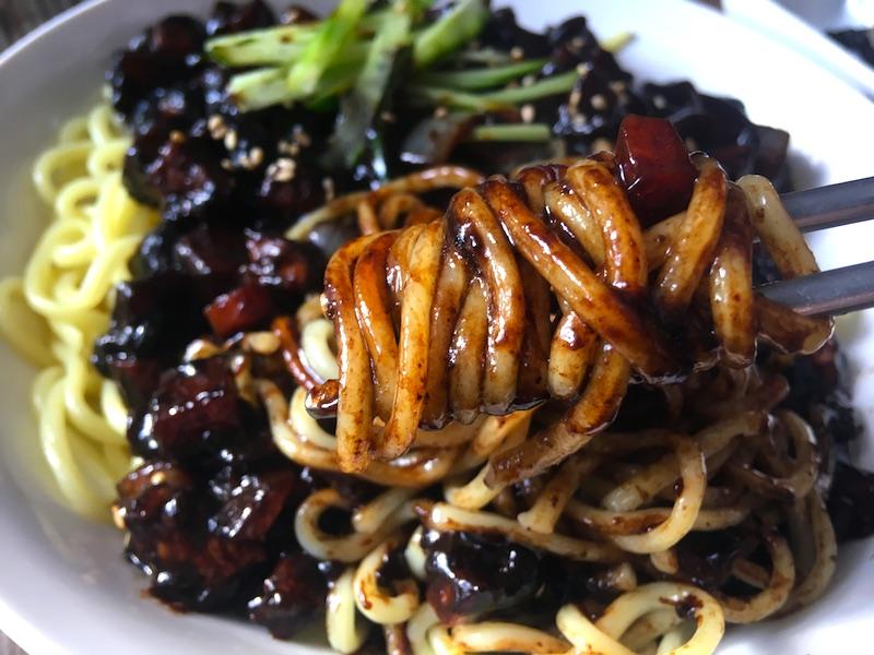 韓国風ジャージャー麺レシピ