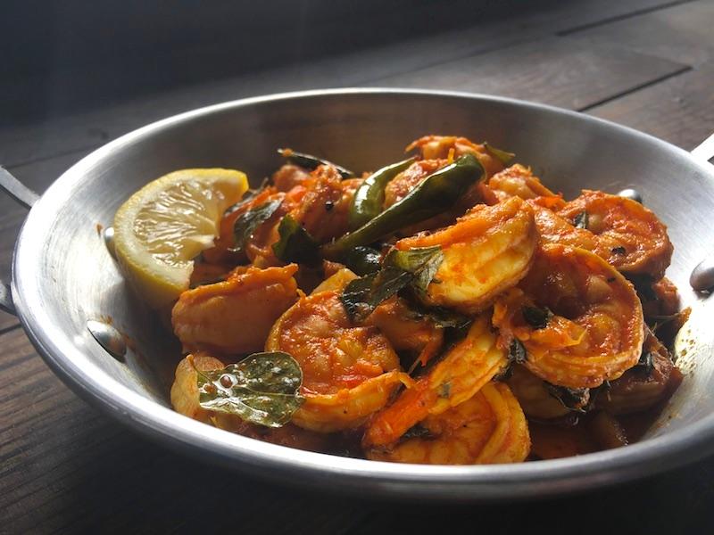 南インド風エビ炒めレシピ