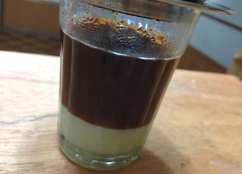 ベトナムコーヒーの入れ方