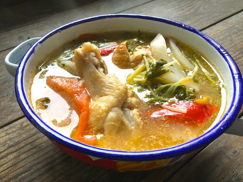 シニガンスープのレシピ