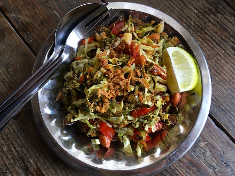 ミャンマー風お茶の葉サラダ【ラペットゥ】レシピ