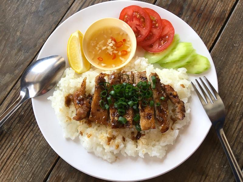 ベトナム風(コムスン)焼き豚乗せごはんのレシピ