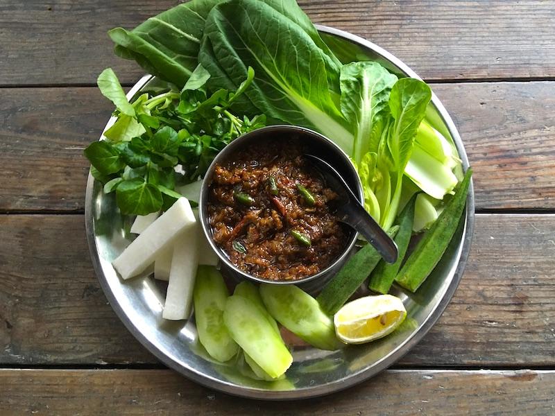 ミャンマー風チリソースのレシピ