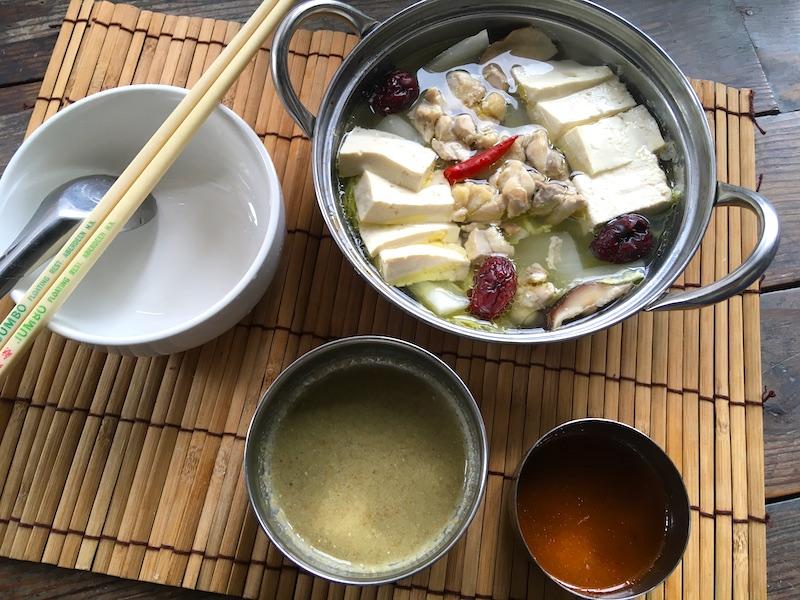 かんたん中国風鍋
