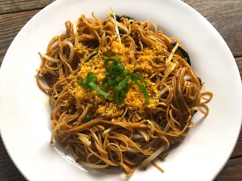 蝦子麺の焼きそばレシピ
